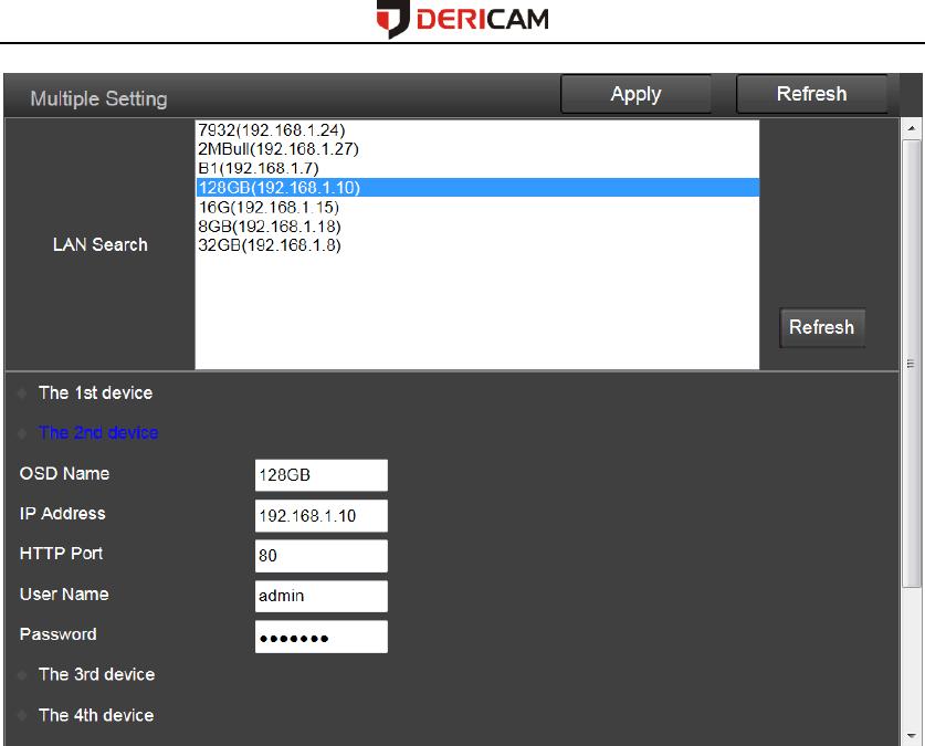Dericam Technology B1 IP Camera User Manual Users manual