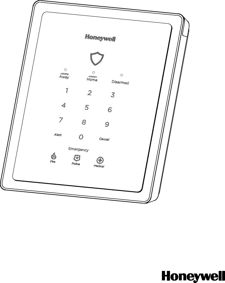 Ademco 8DLGW Harmony Gateway User Manual Lynx R24 Lynx R