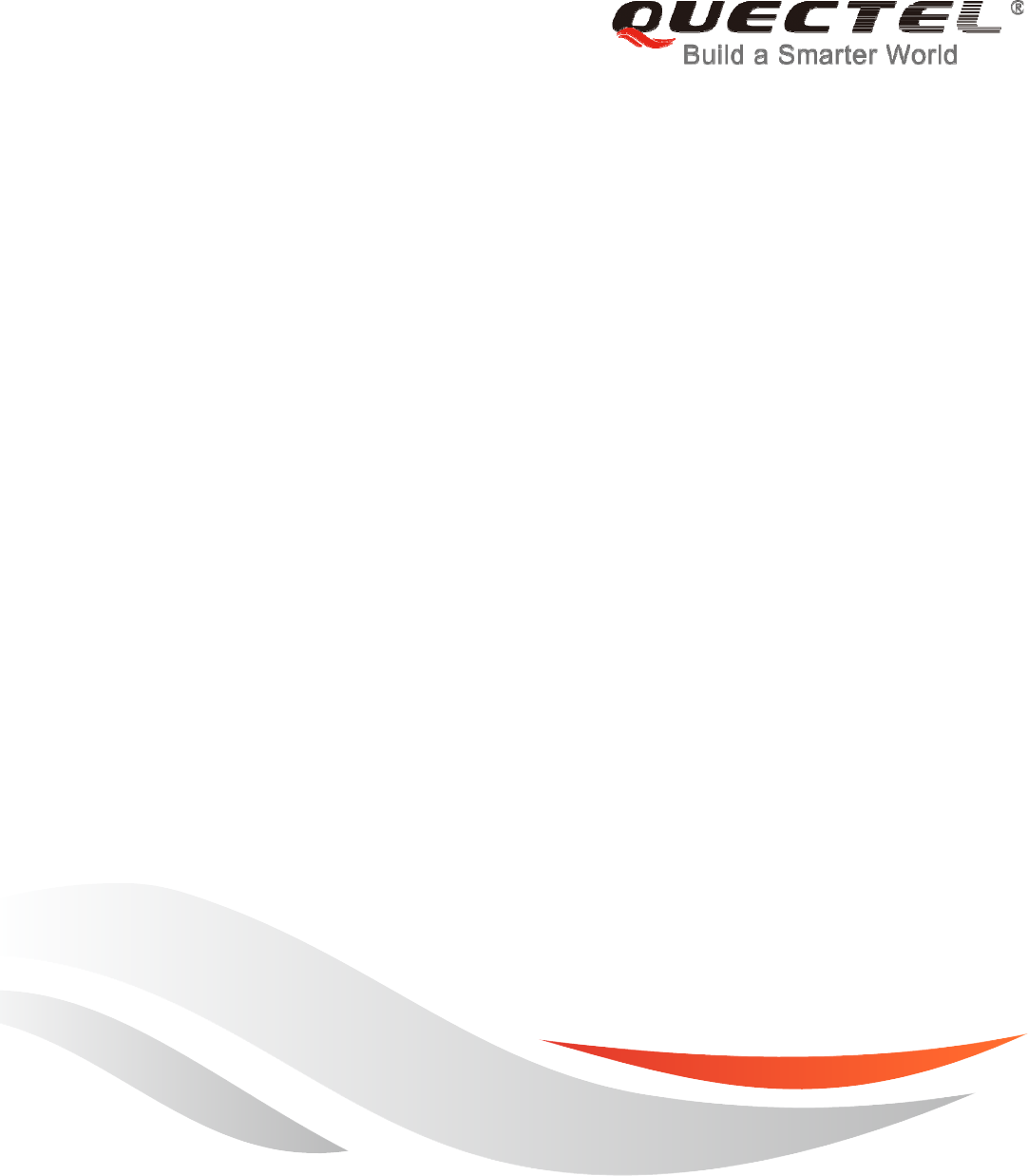 Quectel Wireless Solutions 201609MC20 GSM/GPRS/GNSS Module User Manual