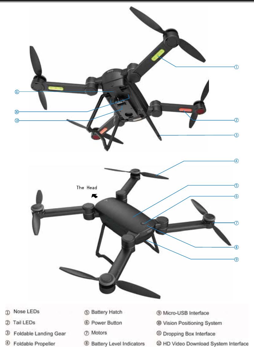 Prodrone Technology PD-BYRD-0201 GDU Byrd User Manual