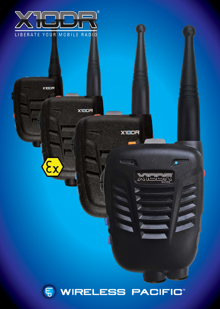 Wireless XG2 TWO WAY RADIO/TRANSCEIVER User Manual