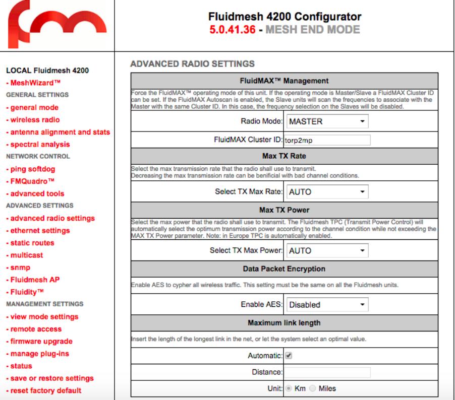 Fluidmesh Networks FMX500 POWERFUL WIRELESS BACKHAULING User Manual mobi