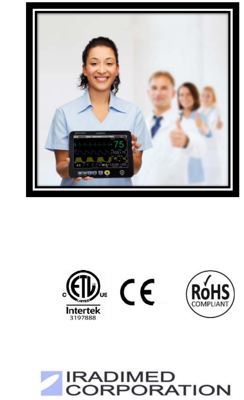 Iradimed IRM00 NON-MAGNETIC PATIENT MONITOR User Manual LiNQ