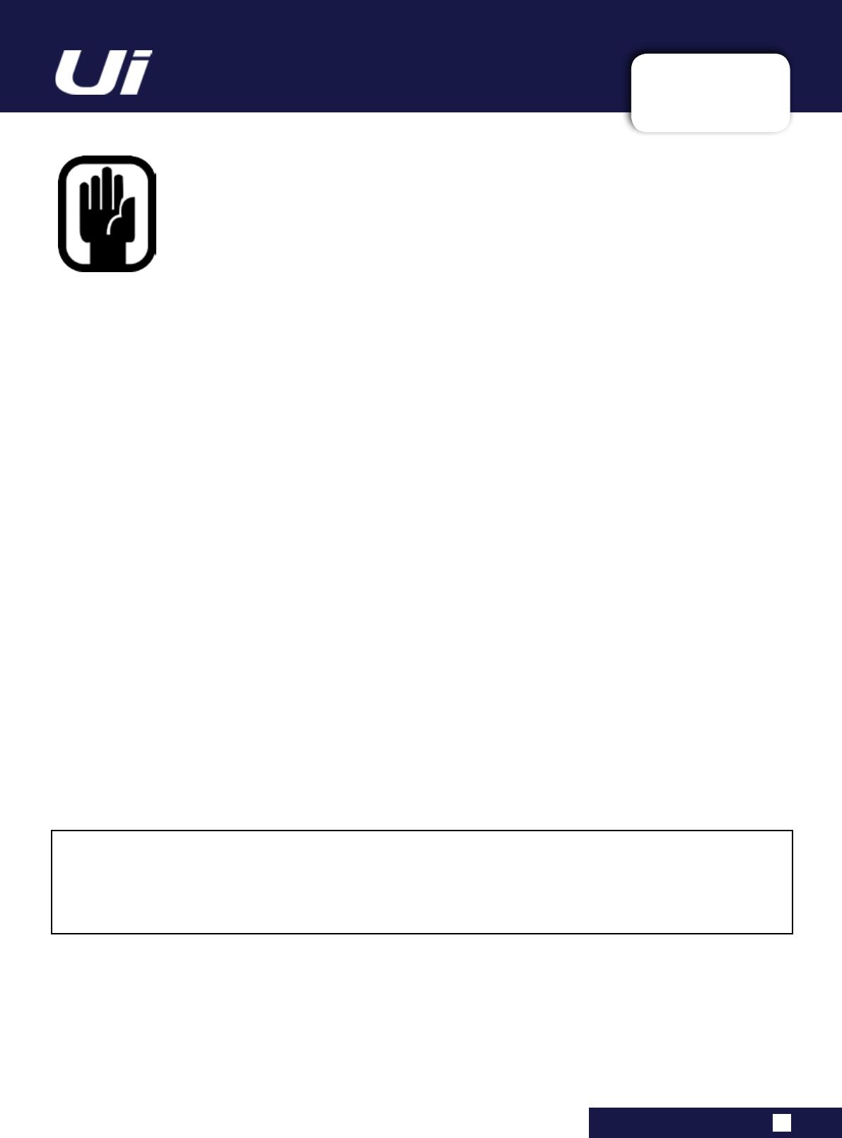 Harman UI24RMIXER 24 Channel Digital Mixer/Recorder User Manual
