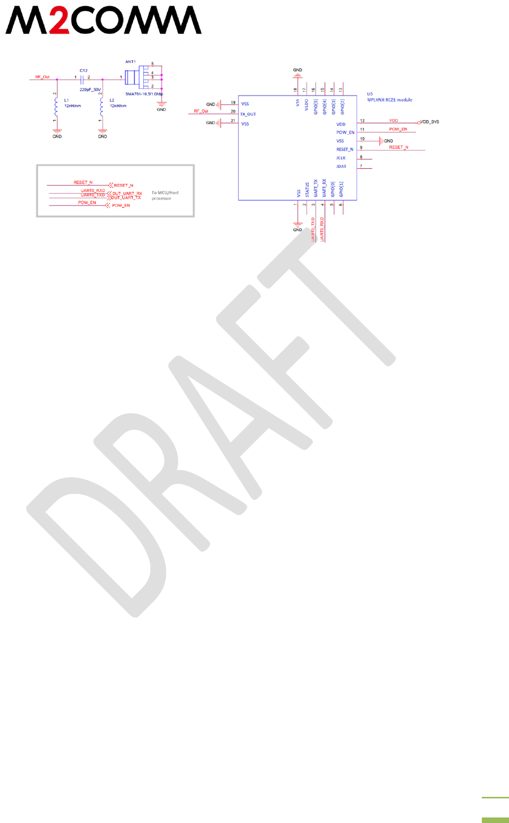 M2Communication 8001UX36LDRZ24 Sigfox Verified Uplynx
