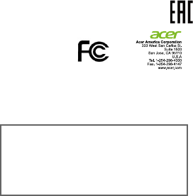Acer orporated A7001 Tablet Computer User Manual