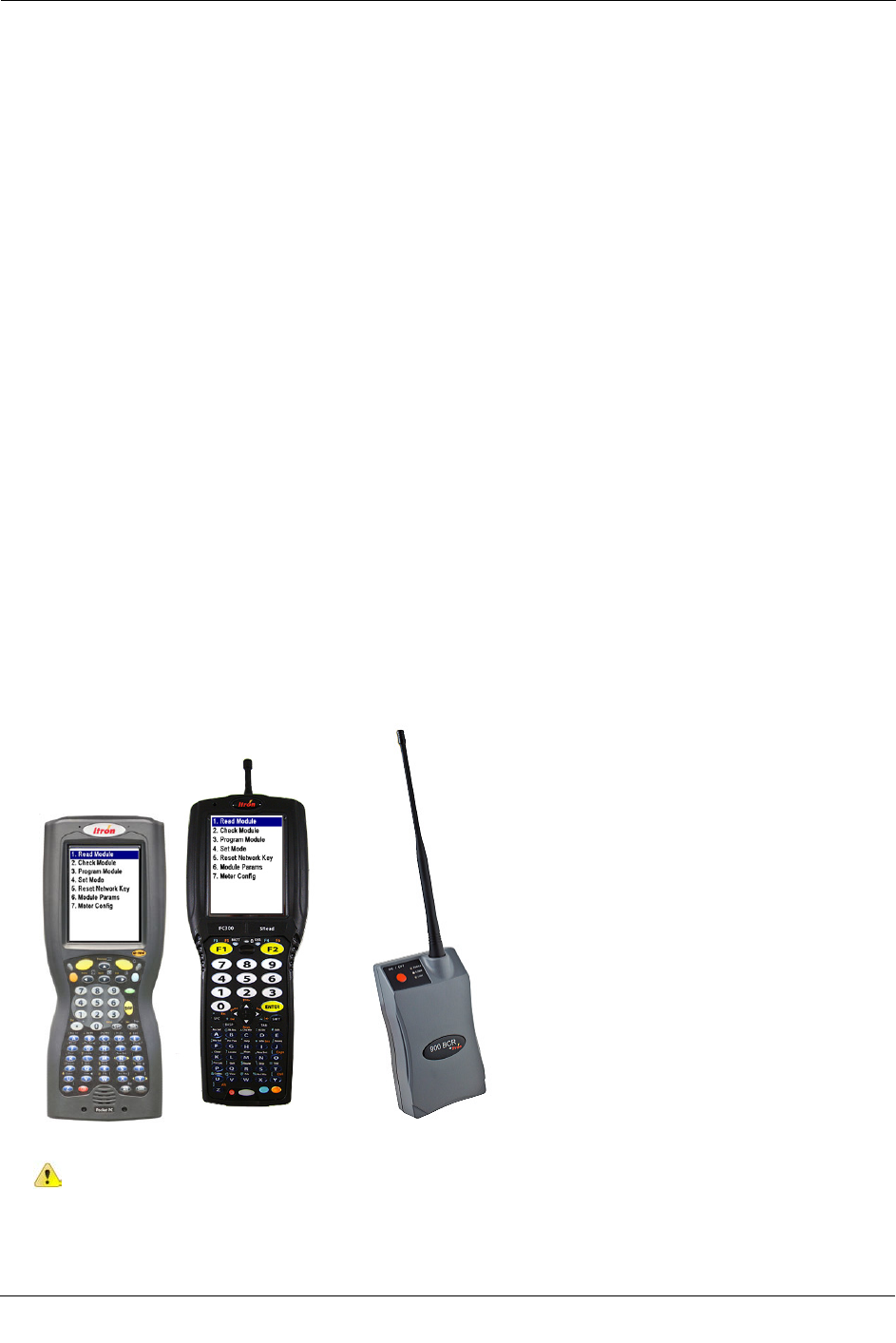 Itron 100GDLBS AMR transceiver device for utility meters