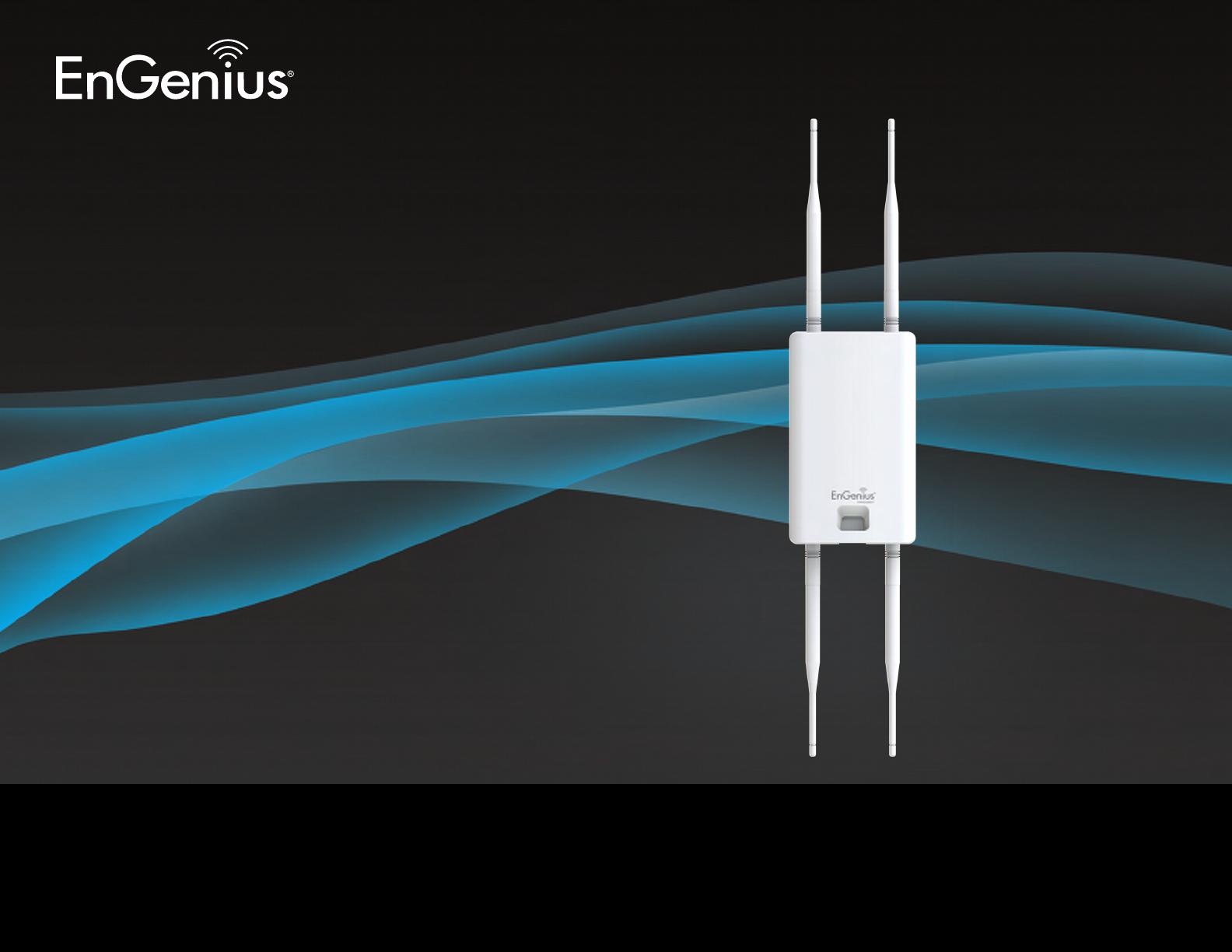 EnGenius Technologies ENS610EXT AC1300 dual concurrent wave2 AccessPoint  User Manual rev 2