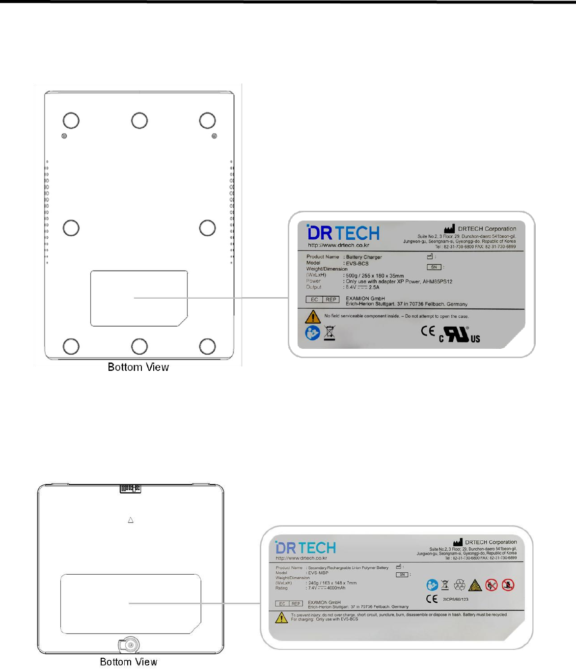 Drtech Evs2430wi Flat Panel Digital X Ray Detector User Manual Tel Tach Wiring Diagram Evs 2430wi Users 11 Regulatory Information
