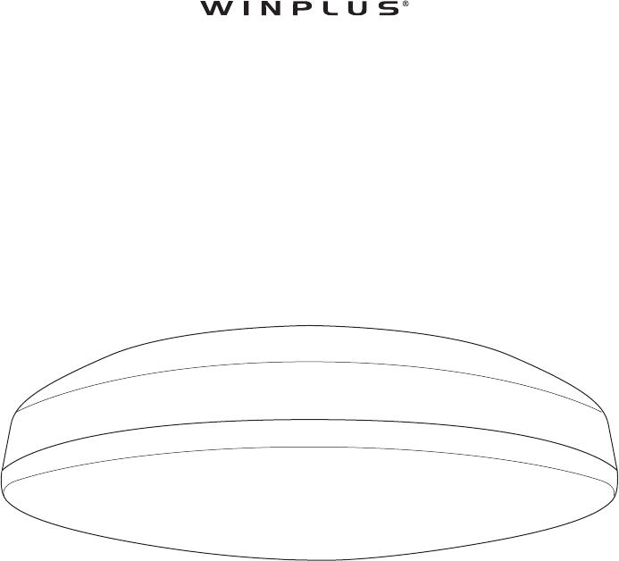 Winplus Lm56123 Led Ceiling Light User Manual