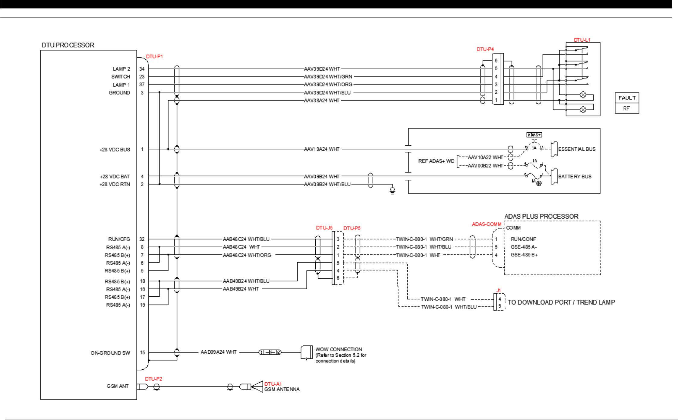 Pratt And Whitney Engine Services Fast34e Flight Data Avan Caravan Wiring Diagram Pw Inc Transmission Unit Dtu G 010 1 B