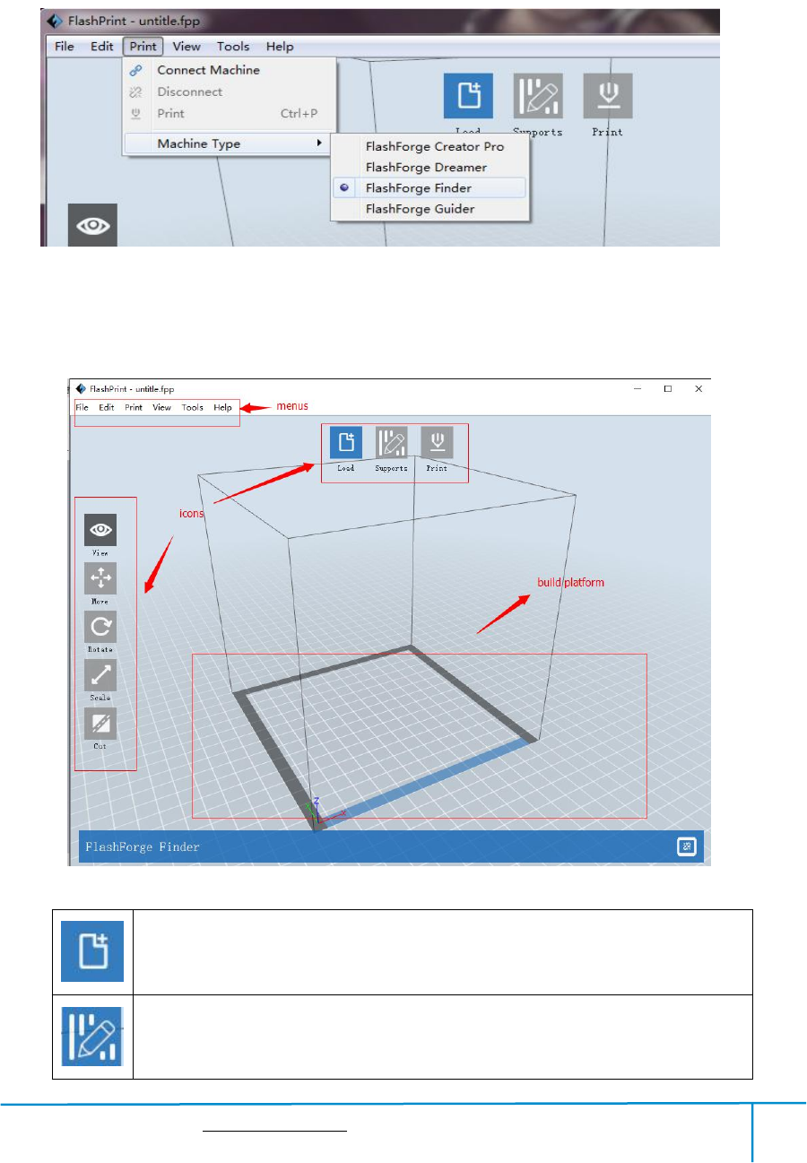 Zhejiang Flashforge 3D Technology GUIDERII 3D Printer User Manual