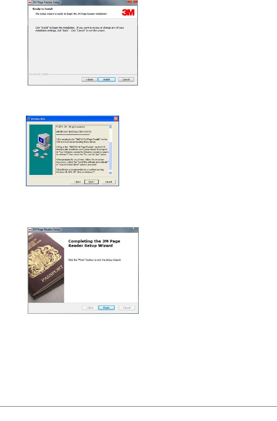 Gemalto PV351515 Kiosk ePassport Reader User Manual 1
