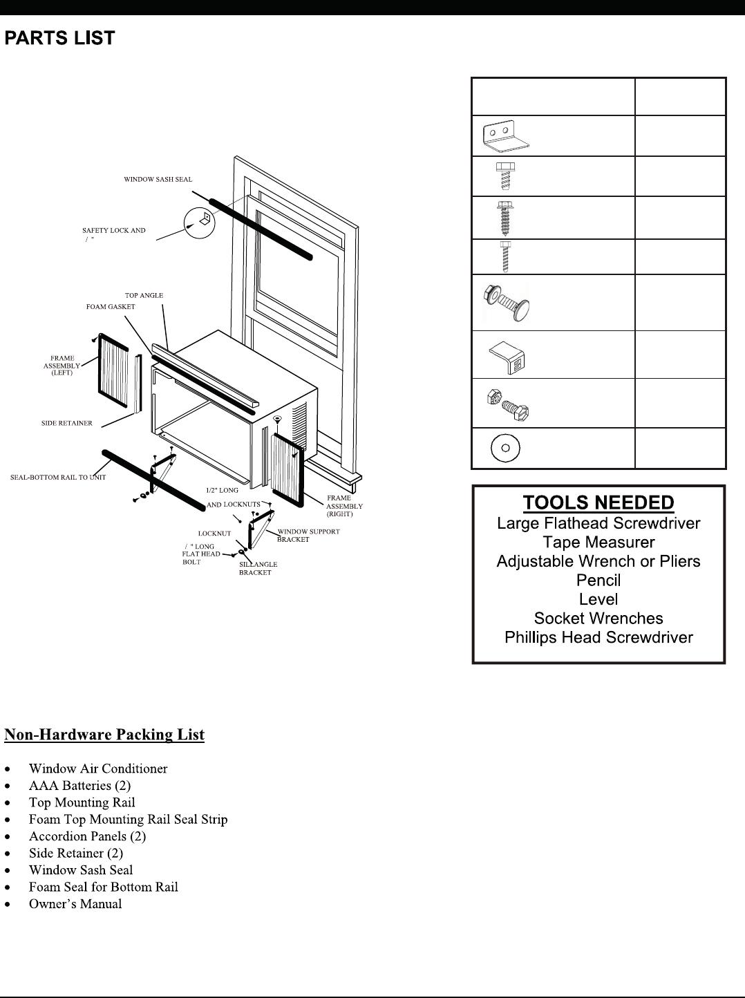 TCL Air conditioner ETWAC-TUWF Windows Type Air-condition