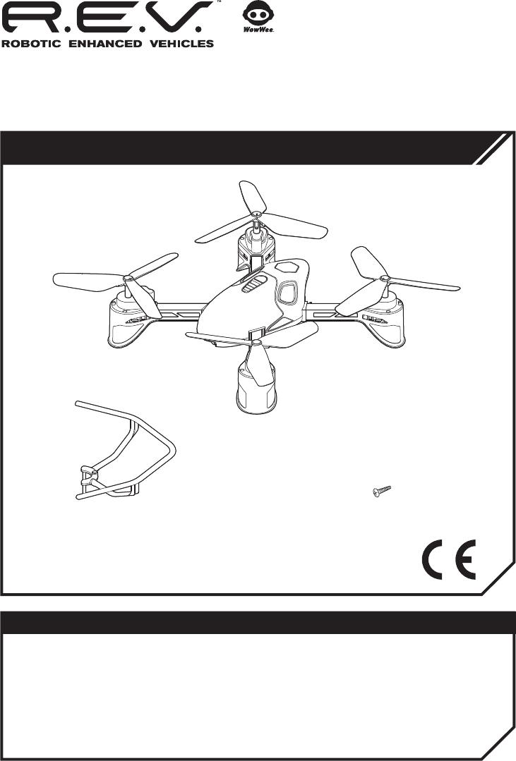 Wowwee Group 0442 Rev Air User Manual Iphone 4 Screws Diagram X Prop Guard