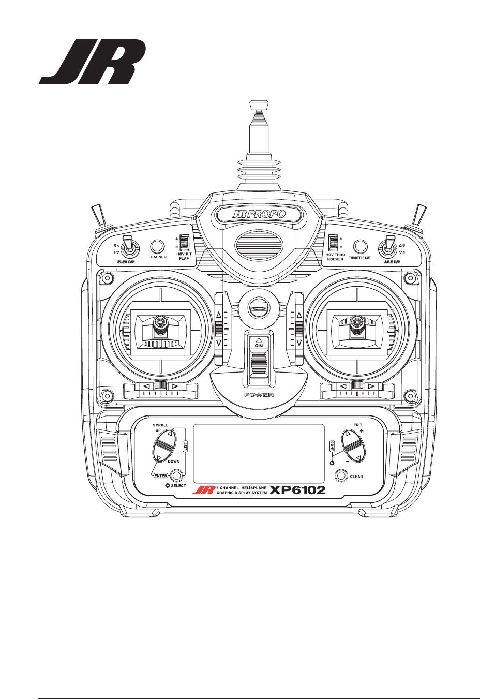 Horizon Hobby XP6102 JR XP6102 FM 6 channel radio system