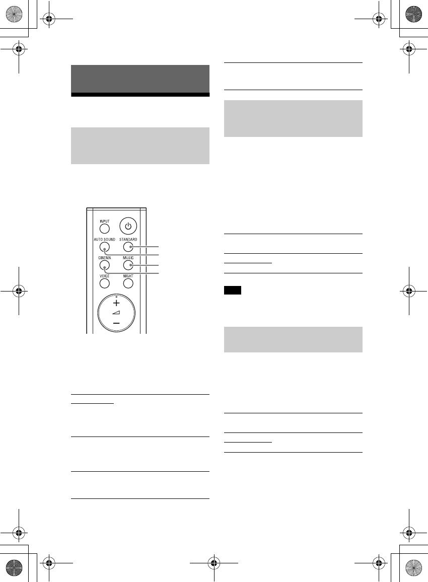 Sony HTS100F Sound Bar User Manual HT S100F