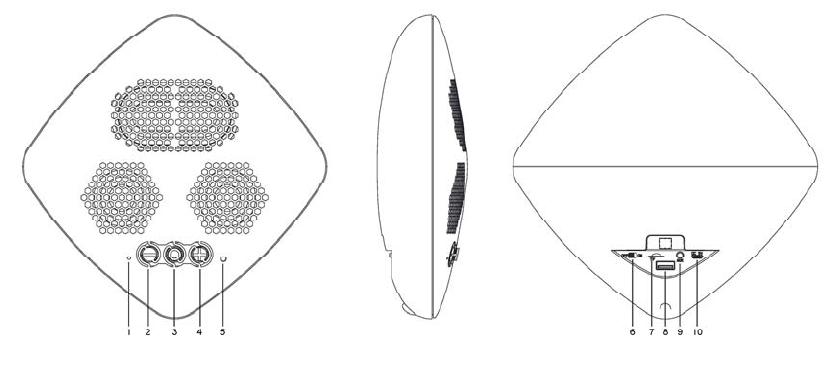 XinHuaMei Electronics BTS-C28 Bluetooth Speaker User Manual