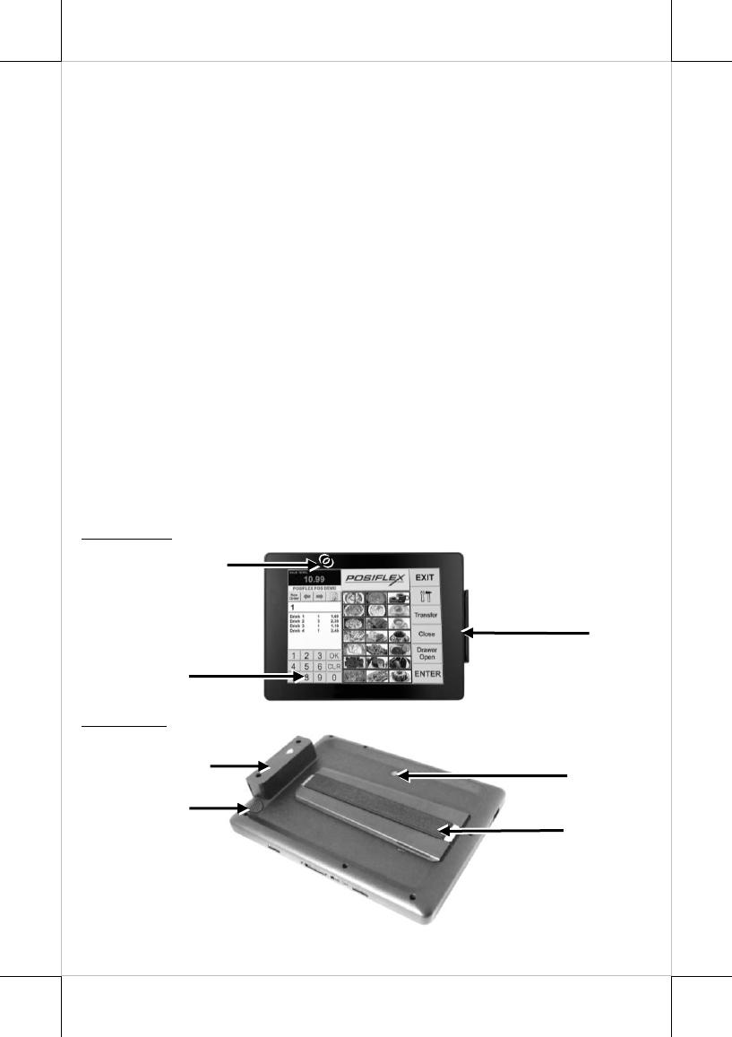 Posiflex Technology MT4300W Mobile Terminal System User Manual UM MT