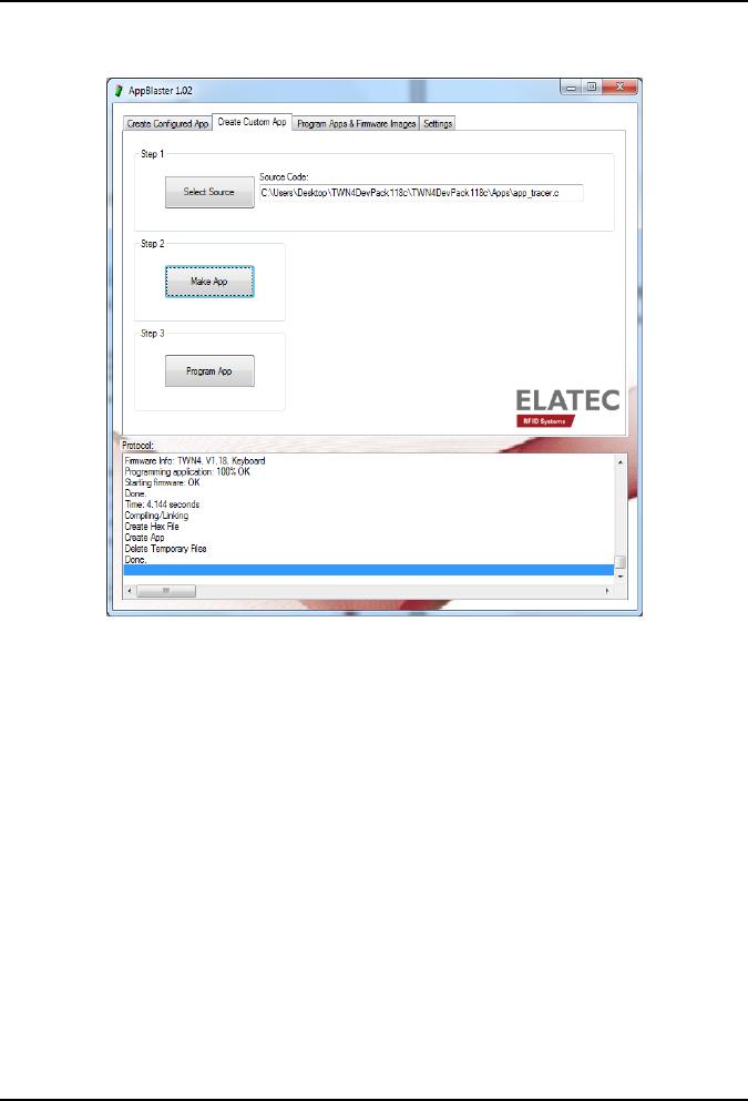 Elatec TWN4F5 RFID Reader User Manual Library