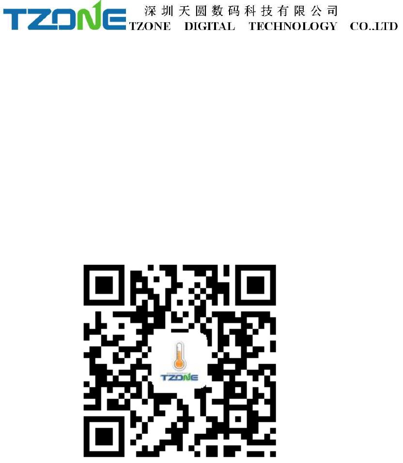 Tzone Digital Technology TZBT04 Bluetooth Temperature and