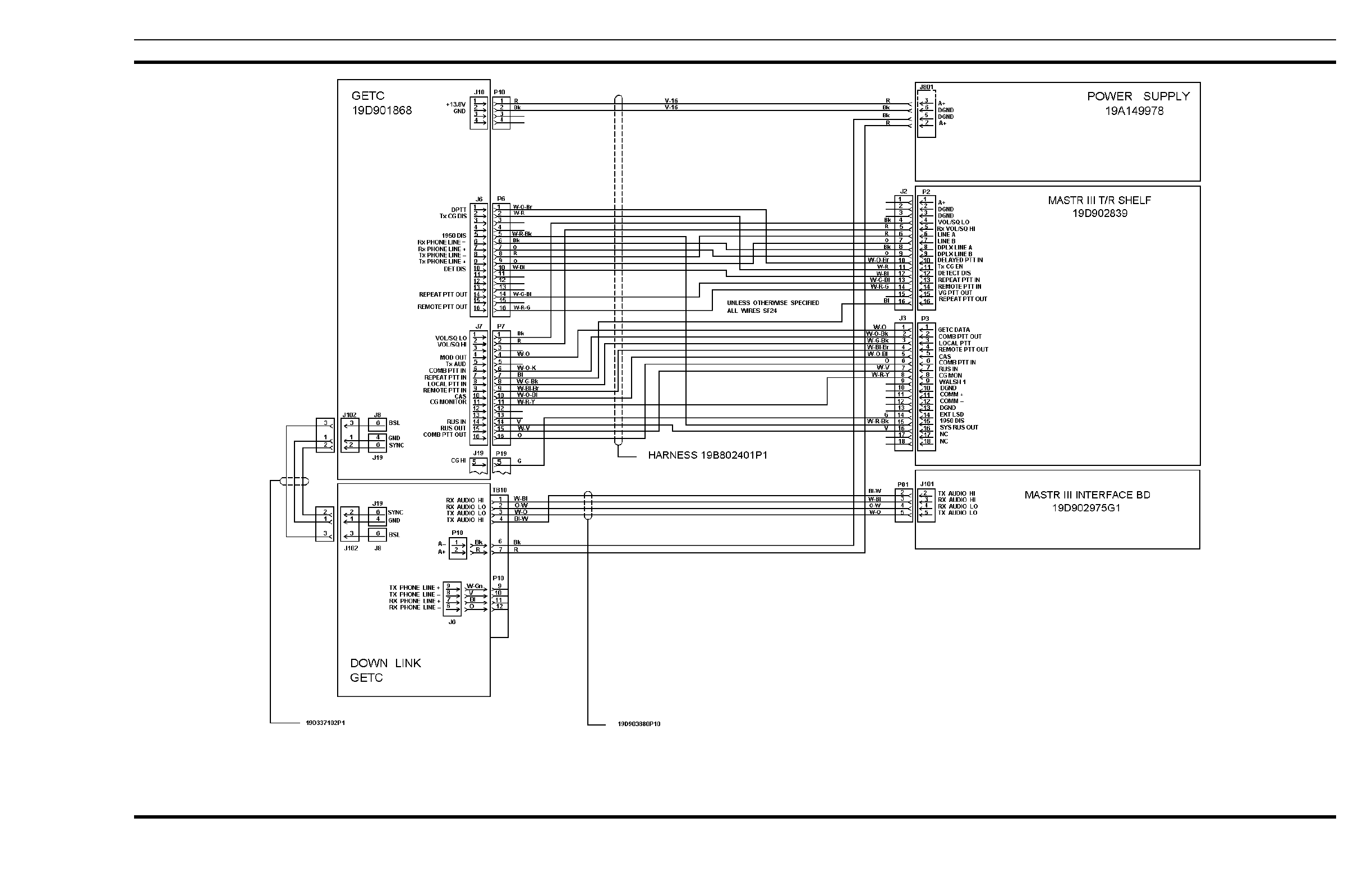 HARRIS TR-0025-E Land Mobile Base Station User Manual Part 90