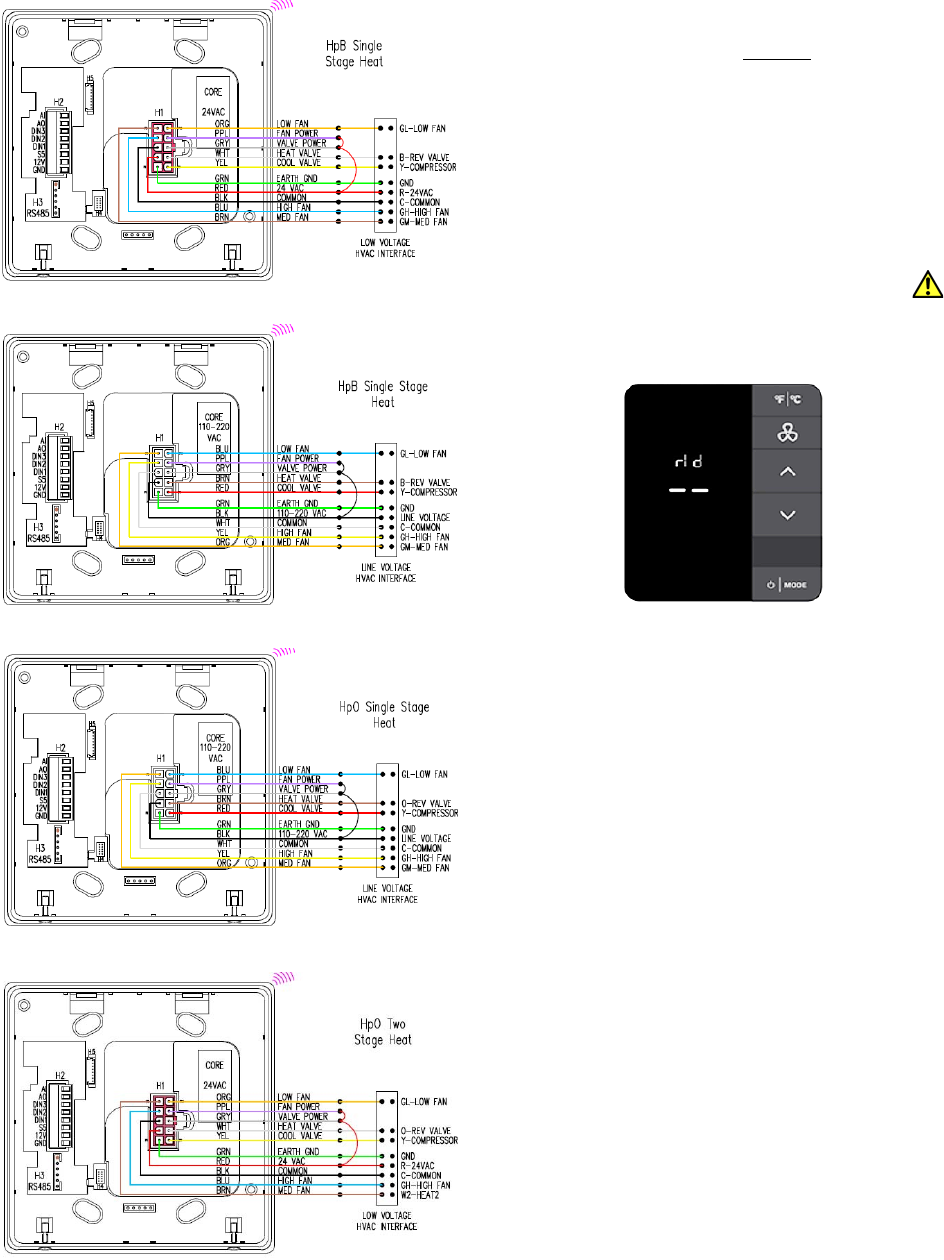 [SCHEMATICS_48ZD]  Honeywell 201528100 E7 Thermostat User Manual 31 00093 03 BACnet Fixed  Function Thermostat | Inncom Room Wiring Diagram |  | UserManual.wiki