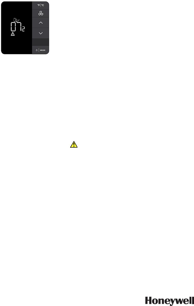 Honeywell 201528100 E7 Thermostat User Manual 31 00093 03 Bacnet Smart Vfd Inncom Installation Instructions