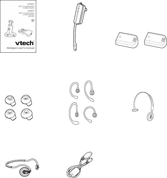VTech Telecommunications 80-0348-00 DECT 6.0 Cordless