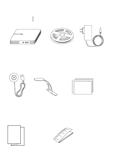 ihoment Technology MT001 LED Lighting for TV User Manual