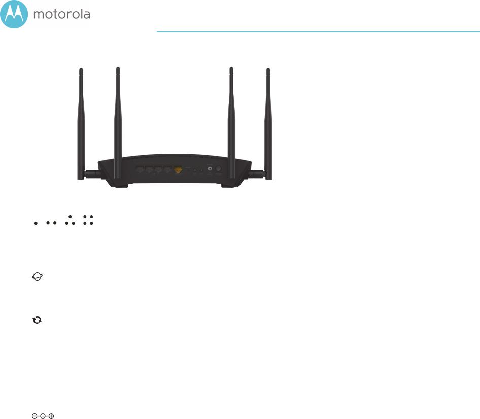 MTRLC MR2600 AC2600 WiFi Gigabit Router User Manual User