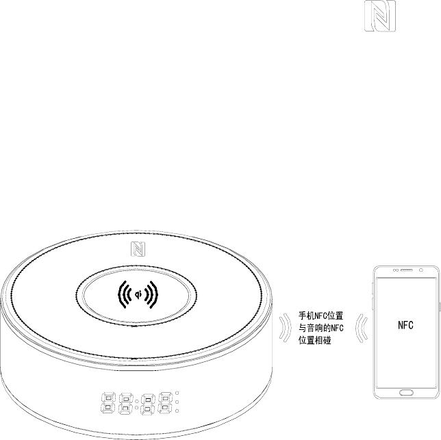 Tzumi Electronics TZUMICLOCK LED Speaker Clock Charging