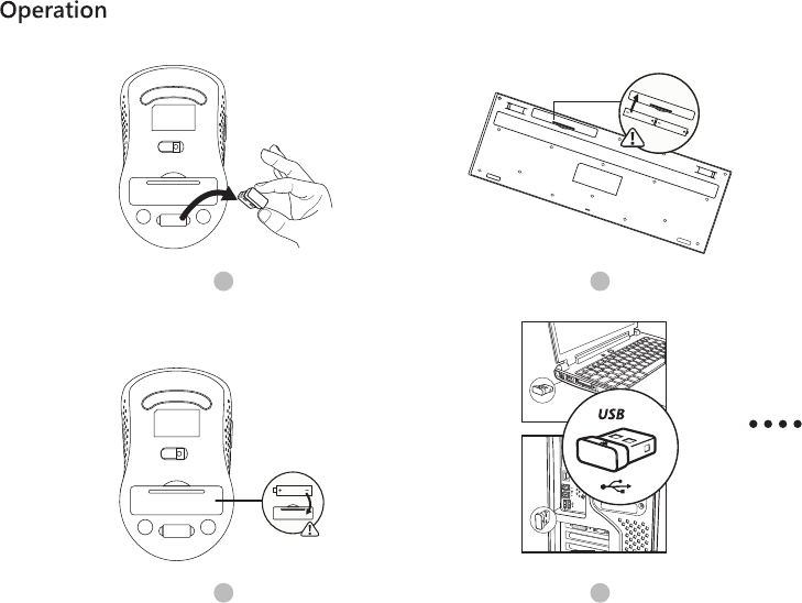 VTIN TECHNOLOGY PC132A-1 Wireless Mouse User Manual