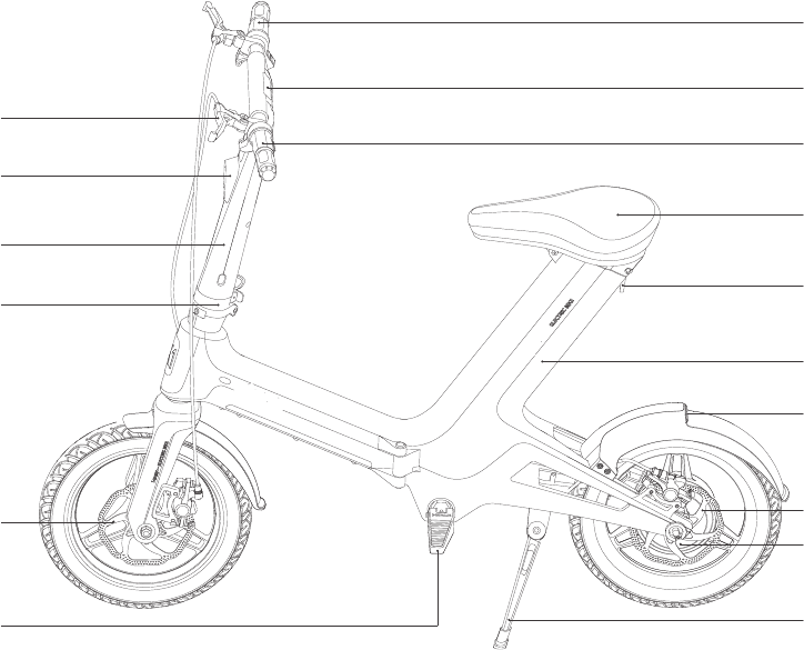 Zhejiang IWALK Technology EBIKE-U2 Electric Folding Bike
