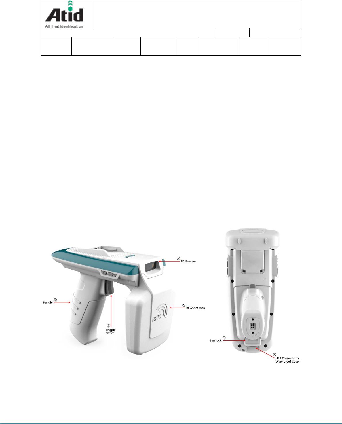 ATID ATS100 UHF Reader User Manual ATS100 User guide