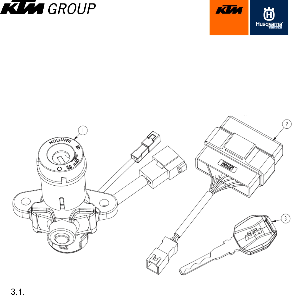 Ktm Immo641 Immobilizer System User Manual Group Minda Central Locking Wiring Diagram