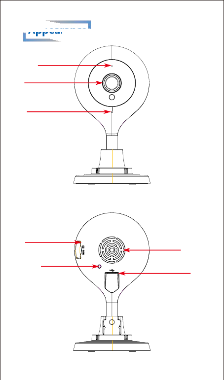 APEMAN IH74 Apeman wifi camera User Manual W1