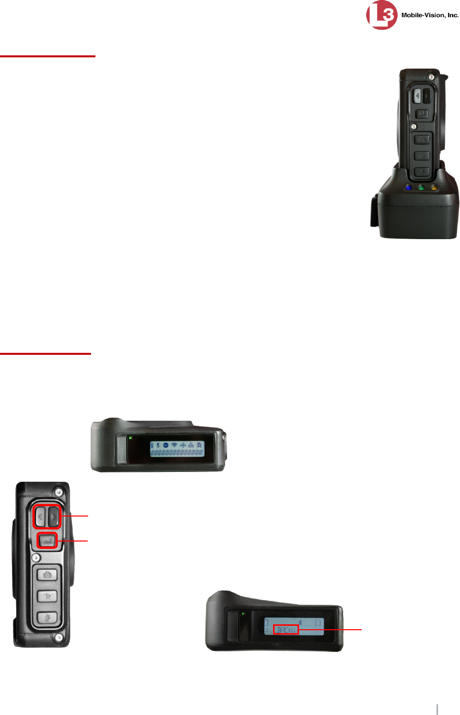L3 Mobile Vision 1M01831 WIFI AND BLUETOOTH MODULE User