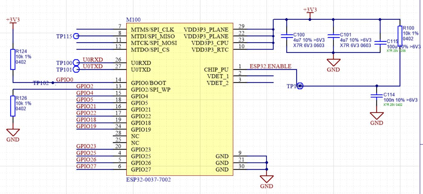 Esp32 Ethernet Schematic