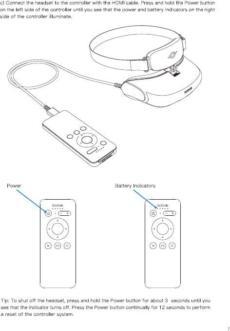 NED Optics Co GOOVISG2 VR Headset User Manual GOOVIS G2