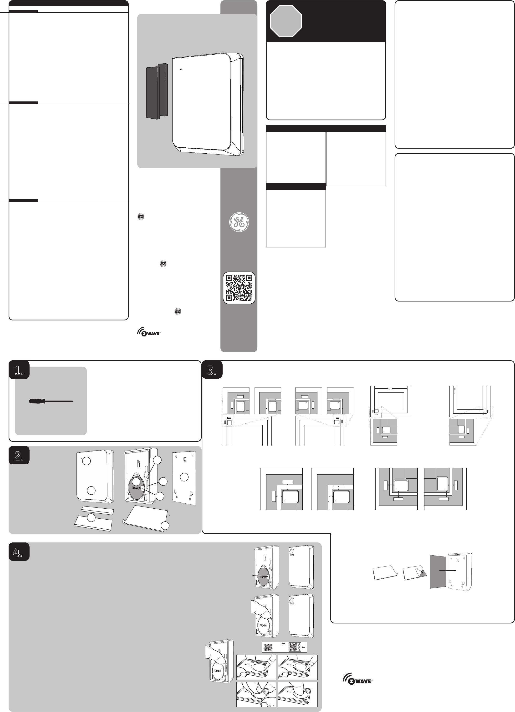 Sheenway Asia Zw6305 Door Window Sensor User Manual