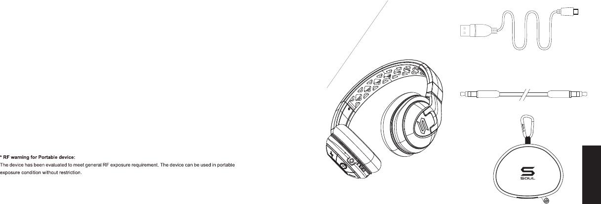 Soul Electronics SX31 X-TRA WIRELESS-Performance Bluetooth