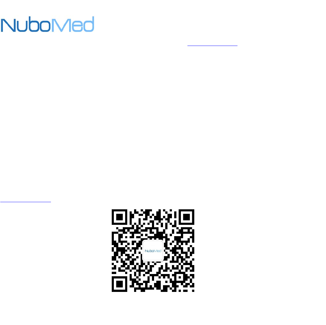 NuboMed Technology S3000 Mobile Medical Cart User Manual