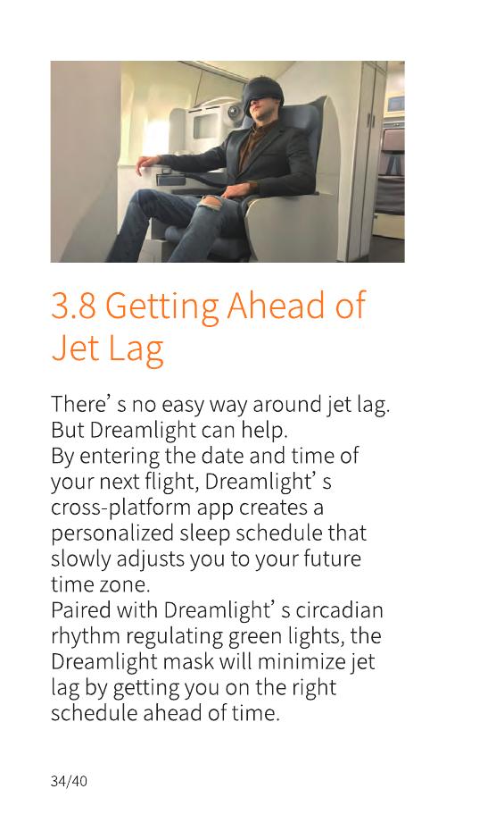 Dreamlight DLSMPG001 Dreamlight Sleep Mask User Manual