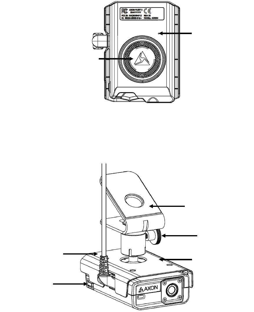 Axon Enterprise S00146B Axon Fleet 2.0 Rear Camera User