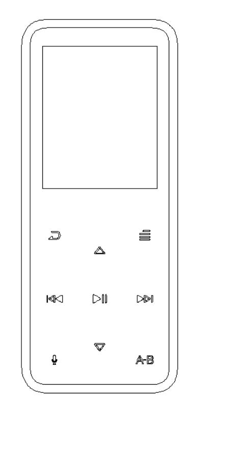 RUIZU DIGITAL TECHNOLOGY X16 MP3 player User Manual