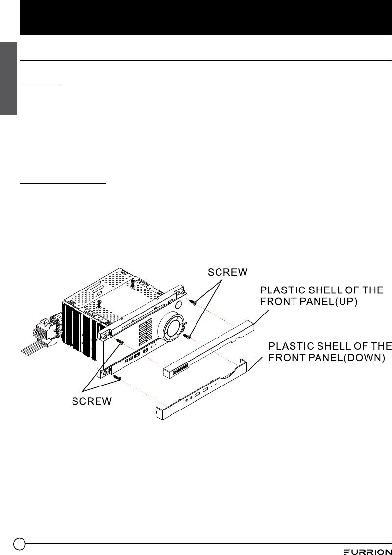 Furrion DV1230 RV wall mount stereo User Manual