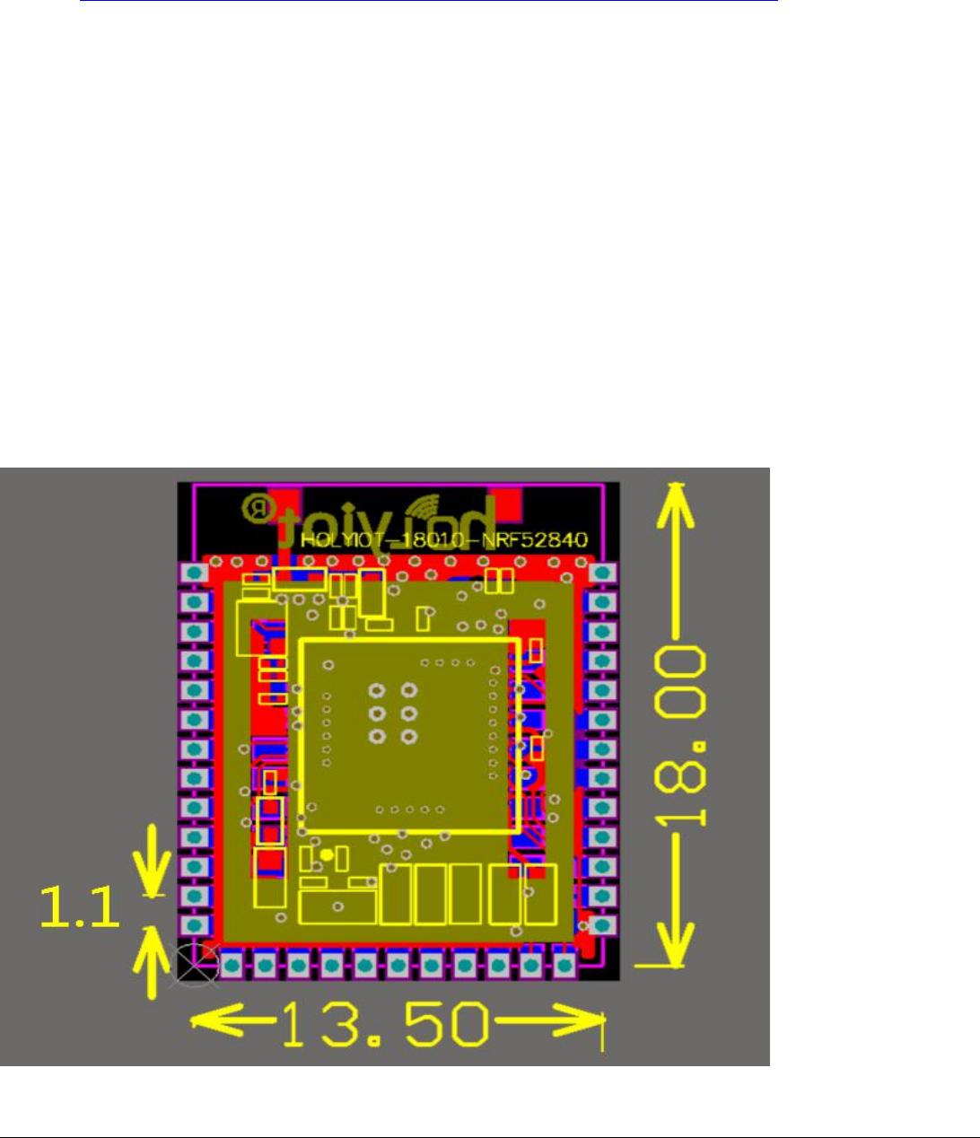 holyiot technology NRF52840 Holyiot-18010-nRF52840 User