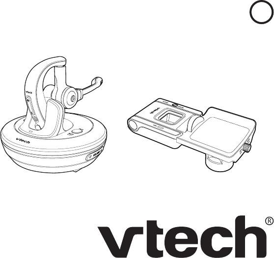 VTech Telecommunications 80-1360-00 Over-the-ear Office