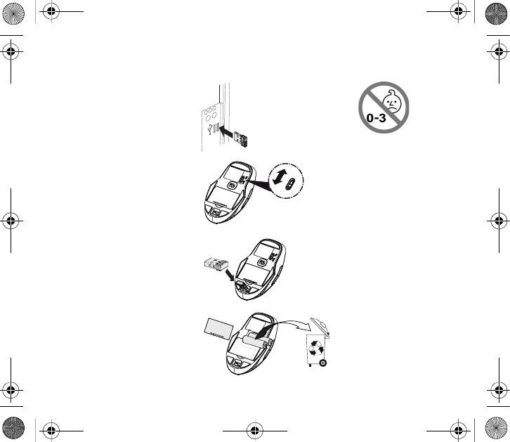 Cherry RG50 Wireless Sym. Nano Receiver User Manual